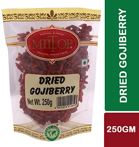 Miltop Dried Gojiberry, 250g
