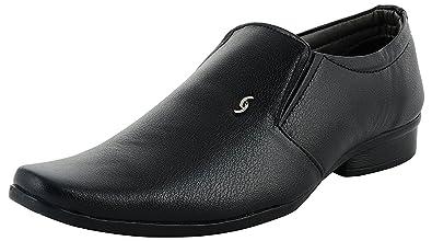 f1092de1e7a1e DECENT Men's Black Formal Shoes