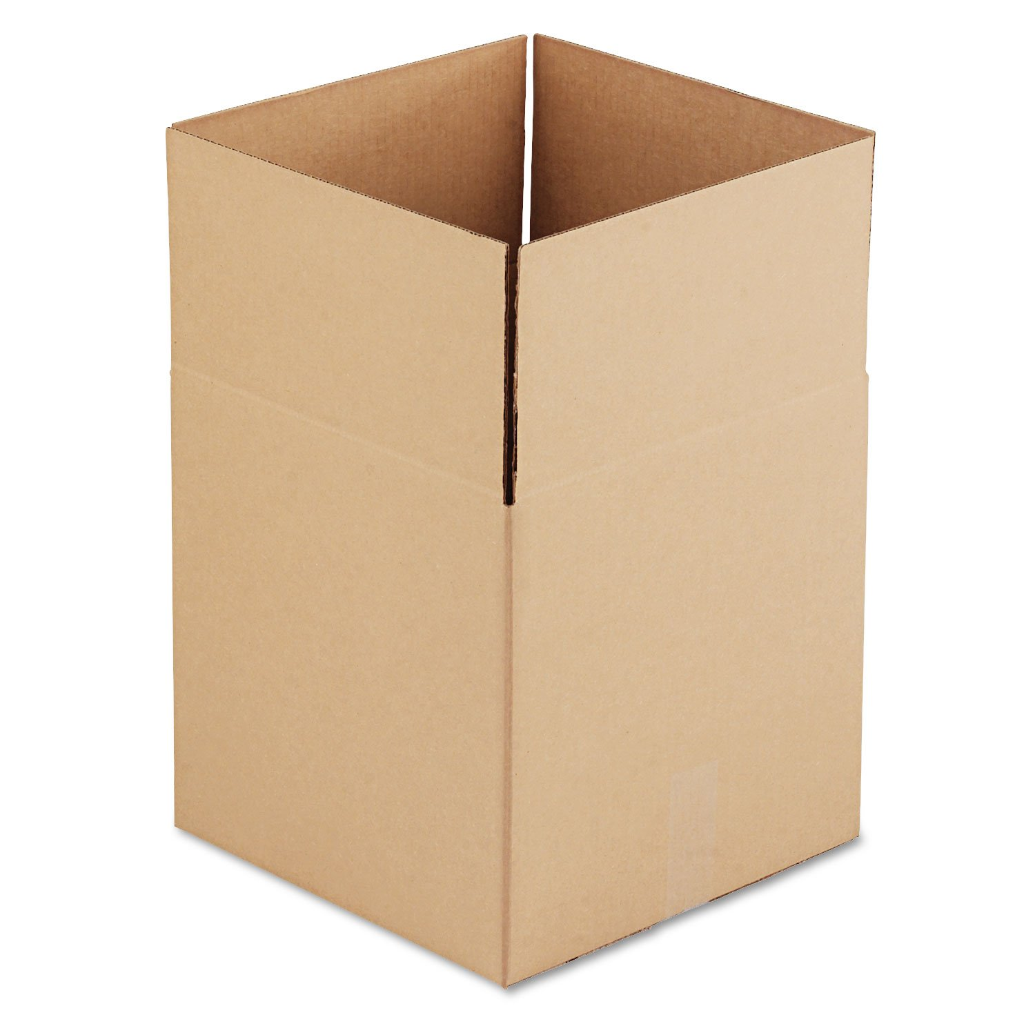 General Supply 141414 Brown Corrugated - Cubed Fixed-Depth Shipping Boxes, 14Lx 14Wx14H, 25/Bundle by Miller Supply Inc (Image #1)