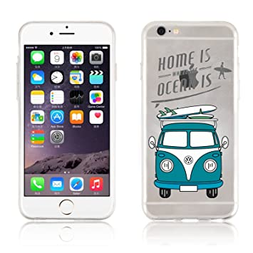coque iphone 6 volkswagen silicone