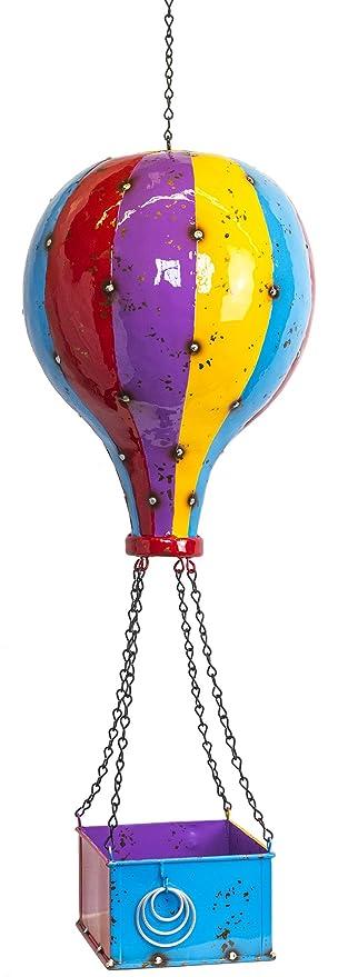 Direct Global Trading Hot Air Balloon Hanging Metal Planter Ideal