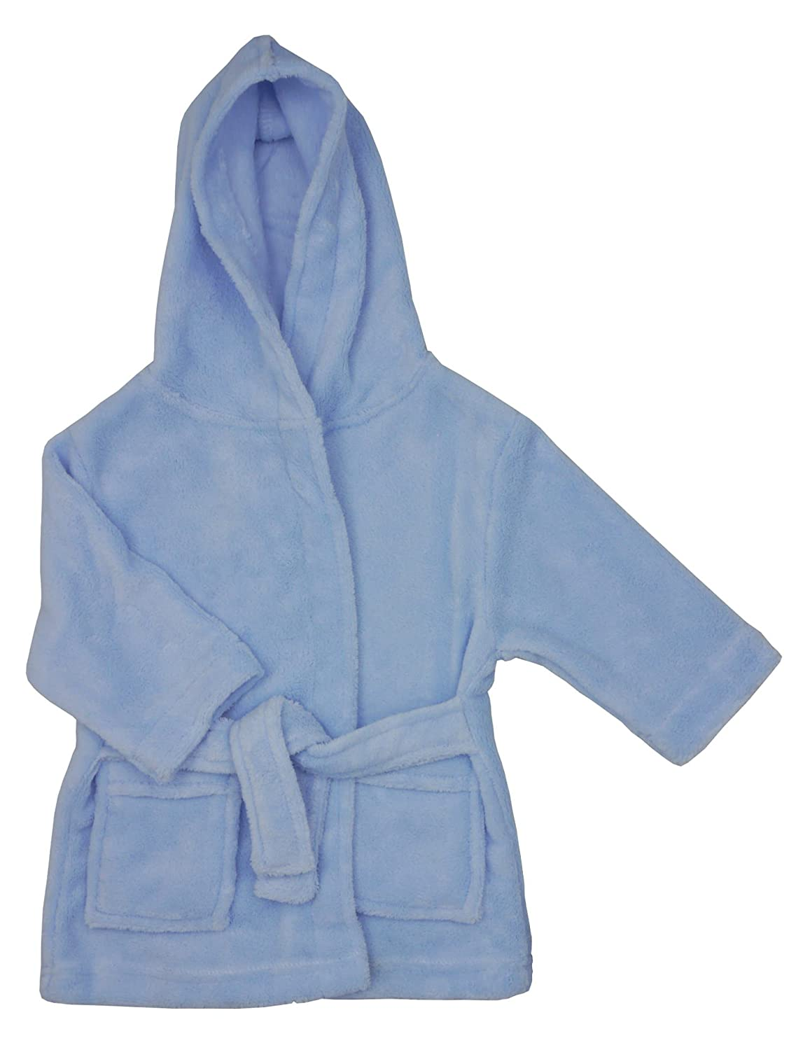 Gorgeously Soft fleece dressing gown by Softtouch - Size Blue - 12-18 Months Soft Touch