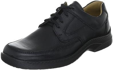 Jomos Feetback, Herren Derby Schnürhalbschuhe, Schwarz (schwarz), 42 EU