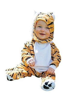 db9709e056a36 Travis Costume combinaison pour b eacute b eacute  en fourrure ultra douce  motif tigre ...
