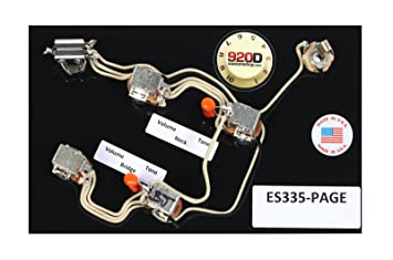 71F X5%2BhZKL._SX355_ amazon com 920d gibson es 335 jimmy page wiring harness with wiring harness kit for es 335 gibson at honlapkeszites.co