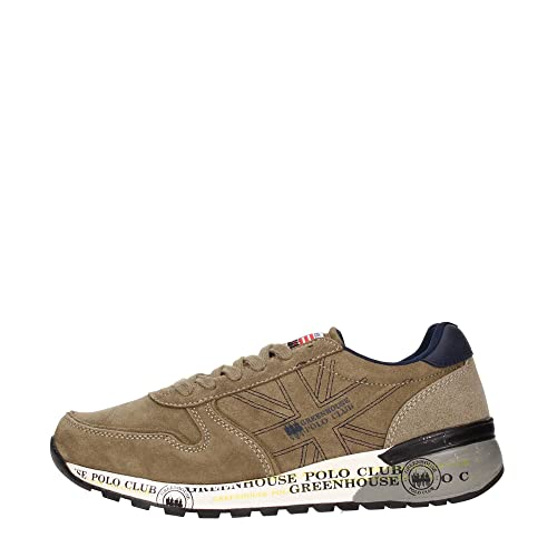 los angeles 80f5a 68547 Greenwich Polo Club PU W60110 Sneakers Uomo: Amazon.it ...
