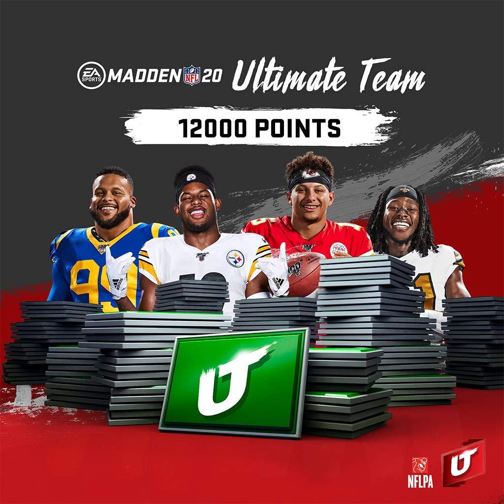 MADDEN NFL 20:  MUT 12000 MADDEN POINTS PACK - [PS4 Digital Code]