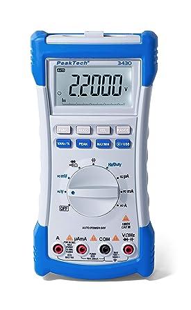 Peaktech Multimeter P 3430 Business Industry Science