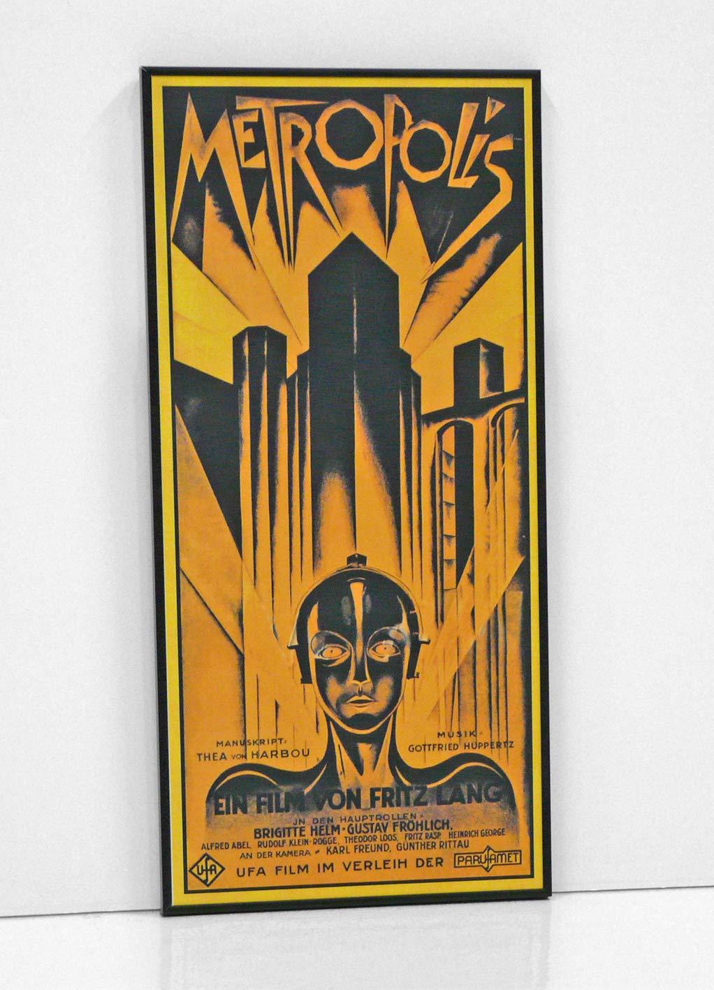 BaikalGallery Cartel Enmarcado Metropolis (1927) TAMAÑ0 ...