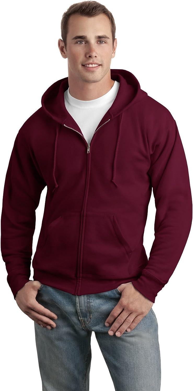 Hanes Adult ComfortBlend EcoSmart Full Zip Hoodie Pullover