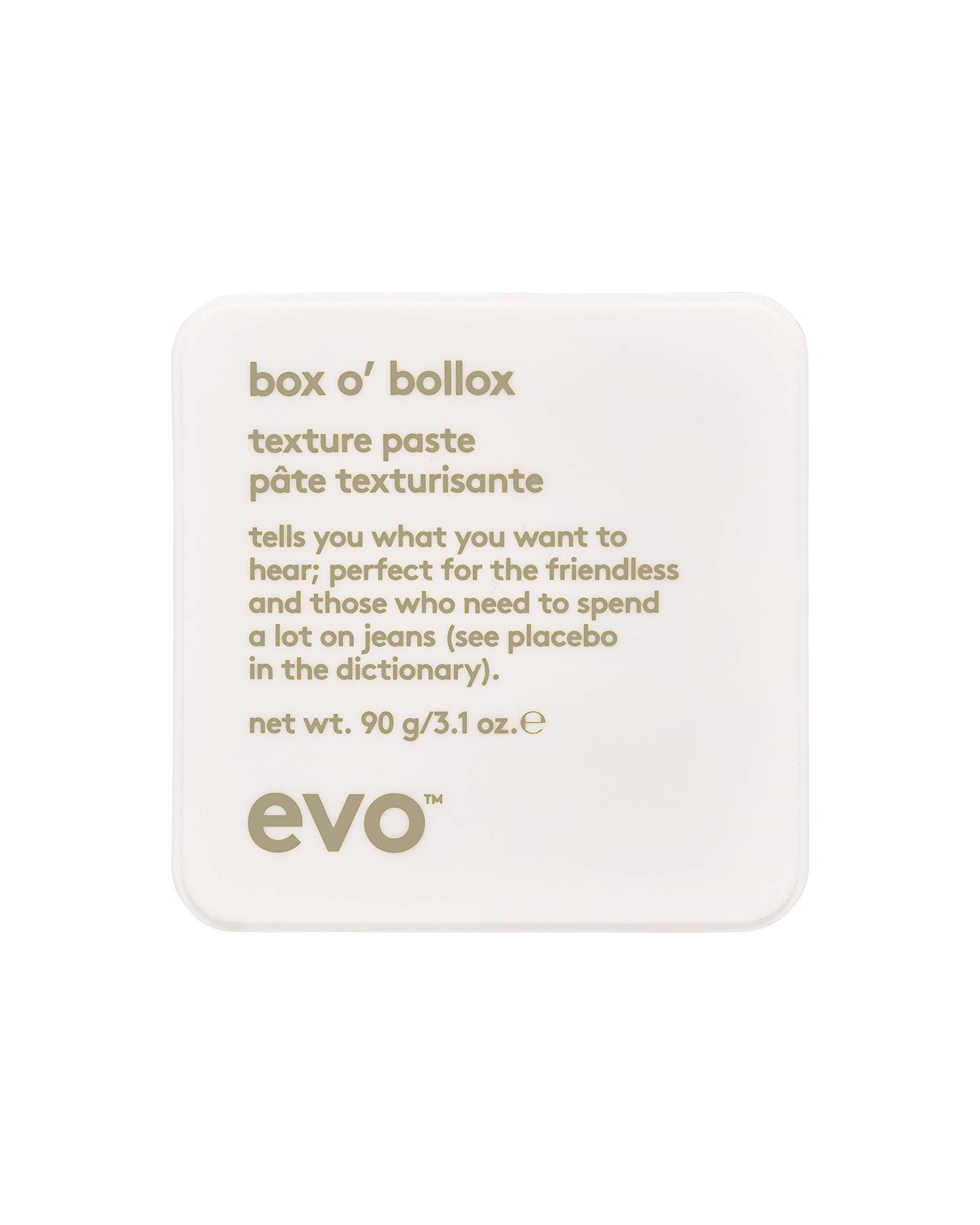 Evo Box O' Bollox Texture Paste, 3.1  Fl Oz by EVO