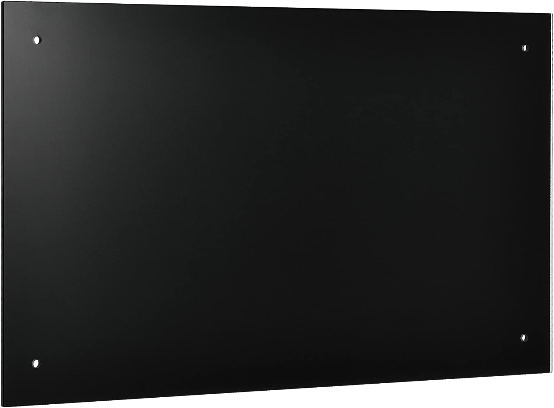 neu.haus /® Verre Fond de hotte 70x50cm noir la cuisini/ère Protection contre les /éclaboussements de gras