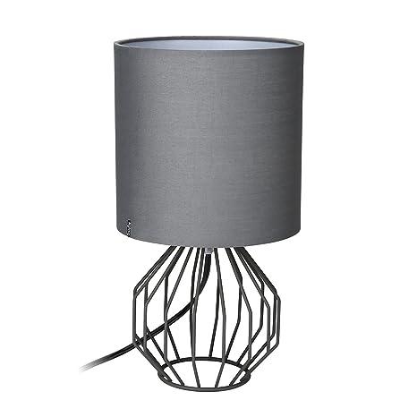 Lámpara minimalista Aglaia, para mesa o mesita de noche ...