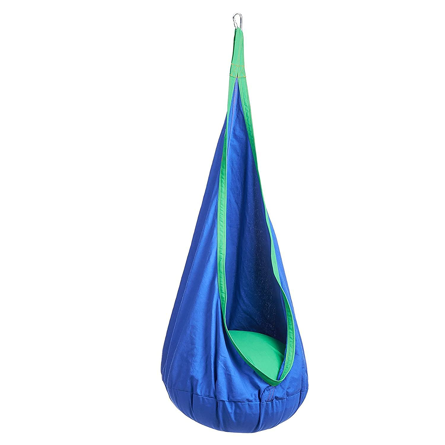 Amazon Hanging Pod chair indoor hammock inflatable pillow 2