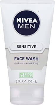 NIVEA Men Sensitive Face Wash Bottle (5 fl. oz.)
