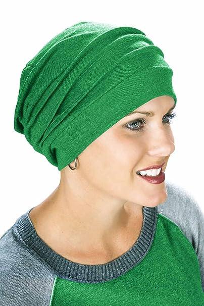 100% algodón Slouchy Snood Chemo Cap - Sombreros para cáncer Chemo pacientes   Amazon.es  Ropa y accesorios edf08ae8a0c