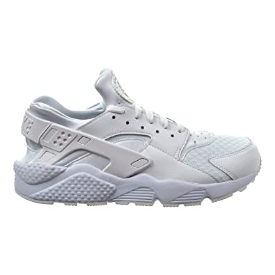 size 40 9bcb7 9ca6a Nike Air Huarache Men s Shoes White Pure Platinum White 318429-111 (8 D(M)  US)  Buy Online at Low Prices in India - Amazon.in