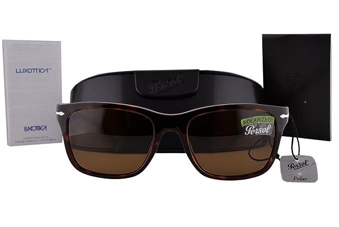 f059055a56e3a Persol PO3135S Sunglasses Havana w Polarized Brown Lens 2457 PO 3135 ...