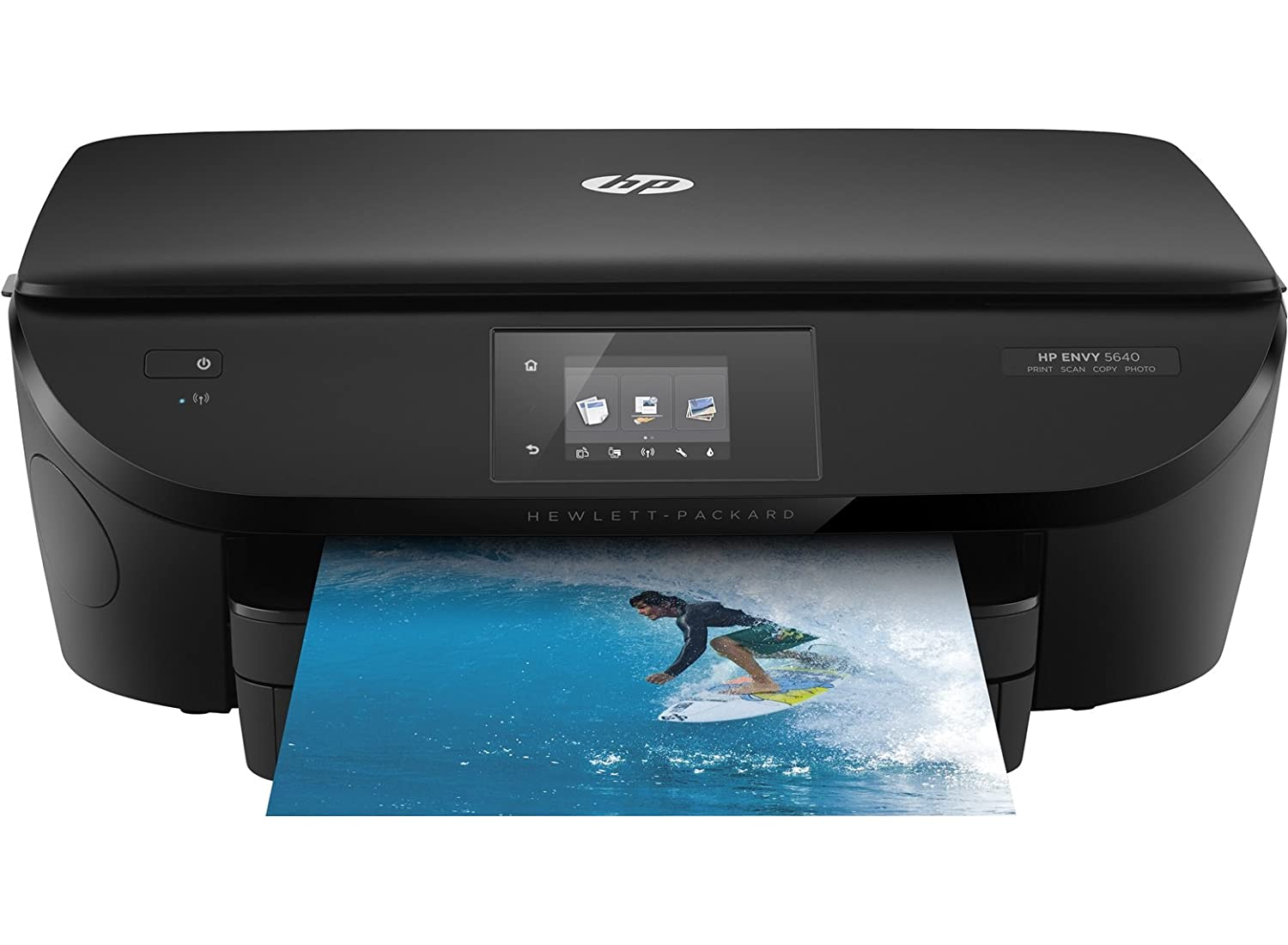 Amazon.com: HP ENVY 5643 E B9S63A All in One Printer, Black ...