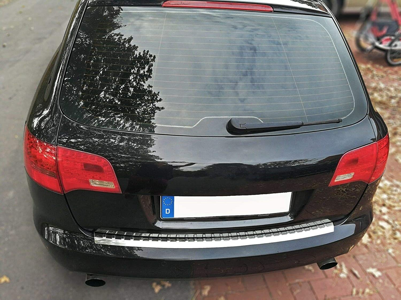 Large Recambo CT-LKS-0790 LADEKANTENSCHUTZ Edelstahl Chrom f/ür Audi A6 C6 4F Avant 2005-2008 mit ABKANTUNG