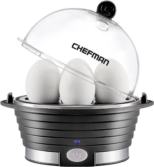 Amazon.com: Chefman - Caldera eléctrica para huevos, máquina ...