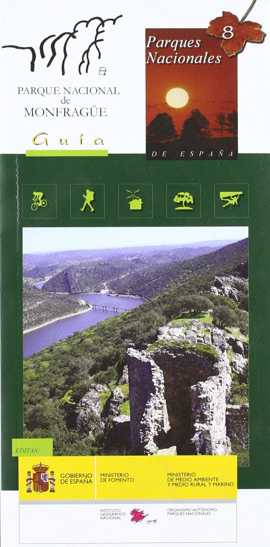 Mapa-guía del Parque Nacional de Monfragüe: Amazon.es: Libros