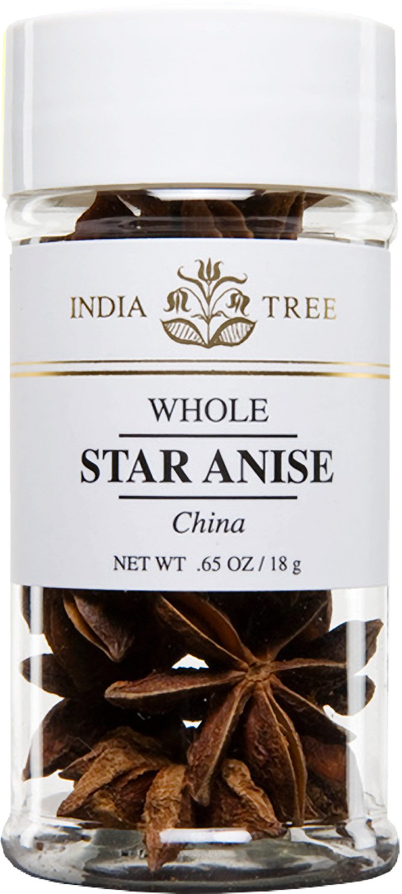 India Tree Star Anise, .65 oz (Pack of 3)