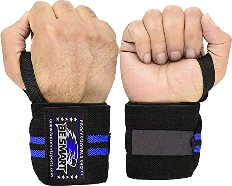 Wrist Support Bracer for Training Gym Workout Wrist Wraps for Men /& Women