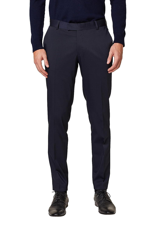 ESPRIT Collection, Pantalones de Traje para Hombre well-wreapped