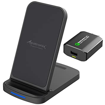 Amazon.com: Alpatronix CX200 Qi - Cargador inalámbrico para ...