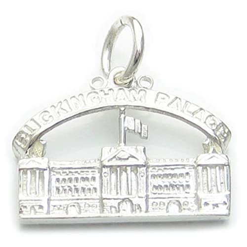 Del Palacio de Buckingham pulsera de plata de ley 925. 1 x colgantes Royal PJPC320: Amazon.es: Joyería
