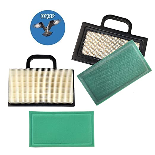HQRP 2-Pack cartucho de filtro de aire Kit (W/pre-cleaner) para ...
