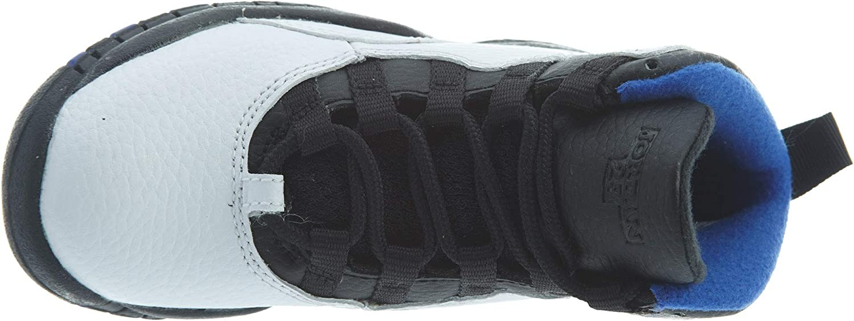 Jordan Air Retro 10Orlando White//Black-Royal Blue PS 3 M US Little Kid