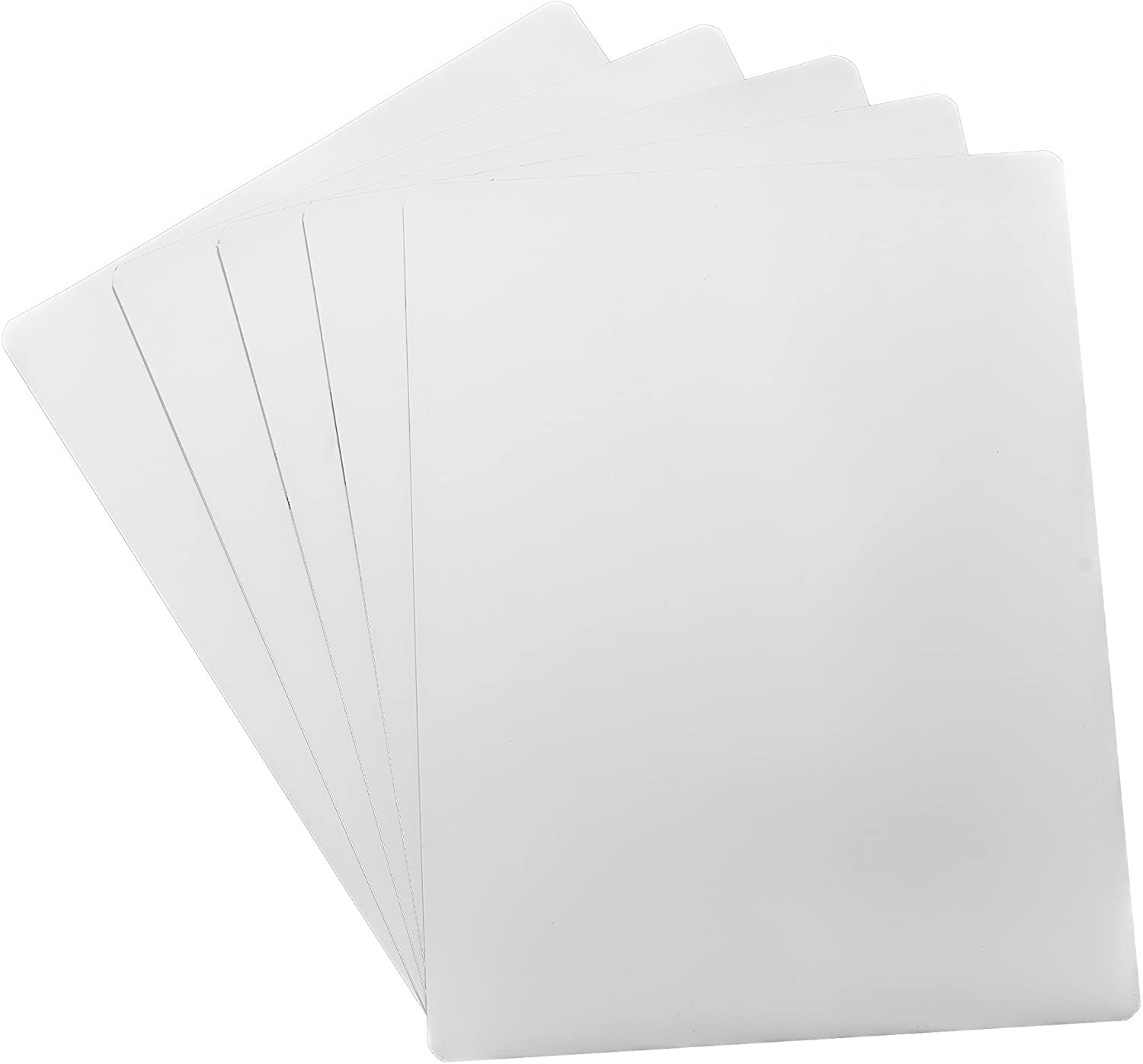 "Dry Erase White Magnetic Sheet - 9"" X 12"" - 5 Sheets"