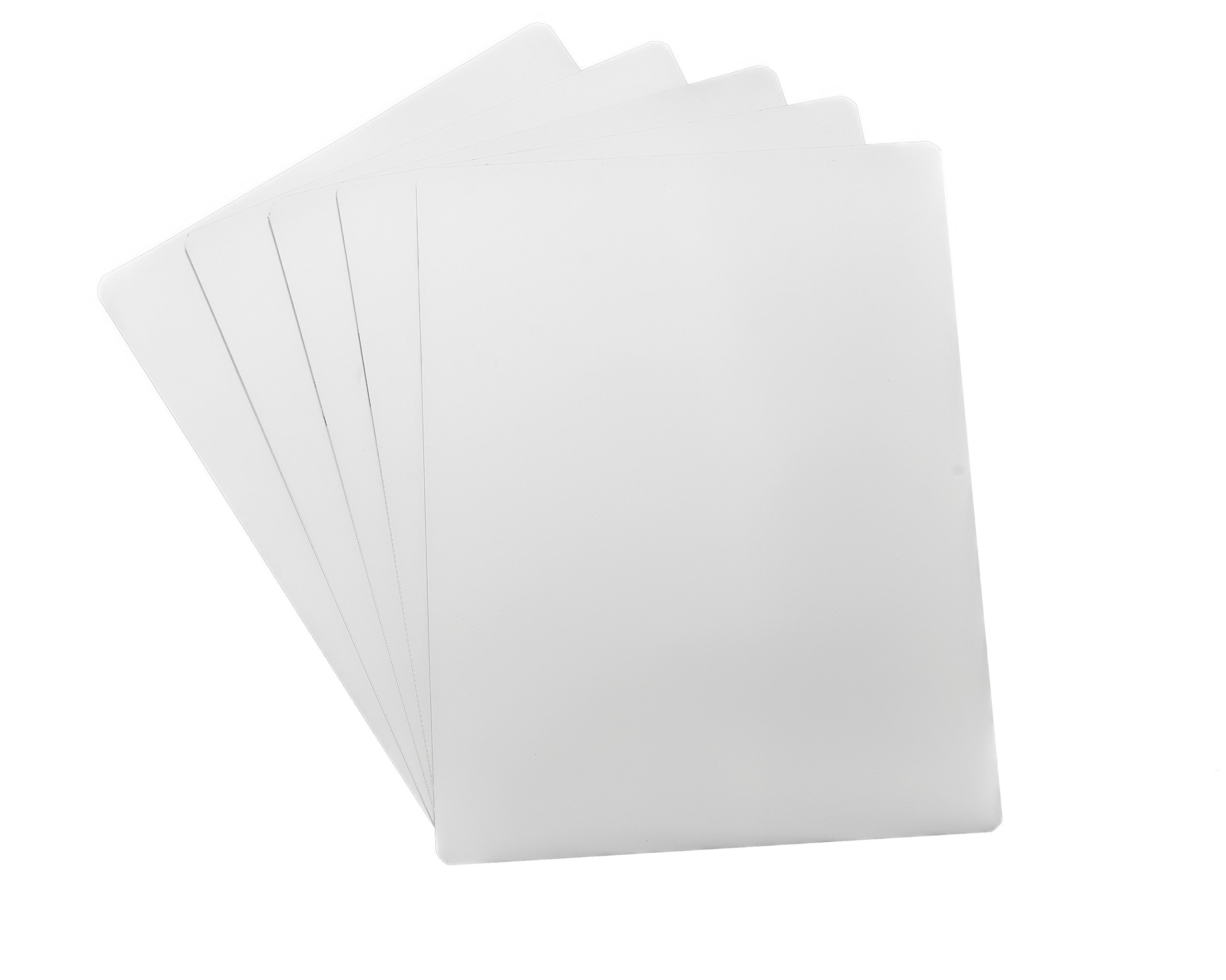 Dry Erase White Magnetic Sheet - 12'' X 18'' - 5 Sheets