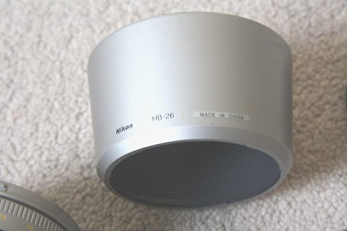 Parasol compatible con Nikon AFD 70-300 AF G 70-300 HB-26