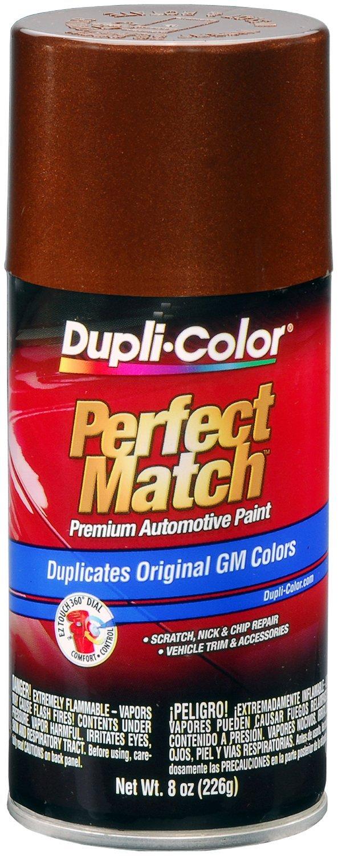 Dupli-Color BGM0544-6 PK (EBGM05447-6 PK) Cordova Brown Metallic General Motors Exact-Match Automotive Paint - 8 oz. Aerosol, (Case of 6)