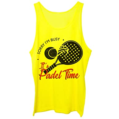 CUC Sorry Im Busy Its Padel Time Sport - Camiseta de Tirantes ...