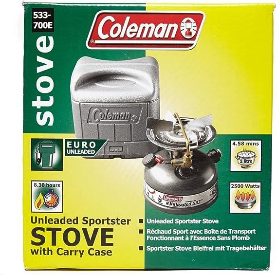 COLEMAN Sportster II sans Plomb R/échaud avec Housse de Transport