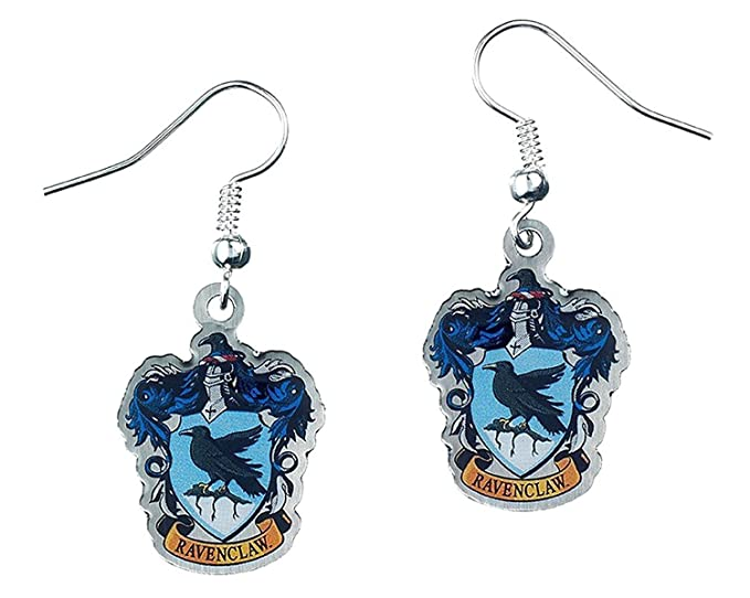 Official Harry Potter Jewellery Ravenclaw Crest Earrings oWMXTf1