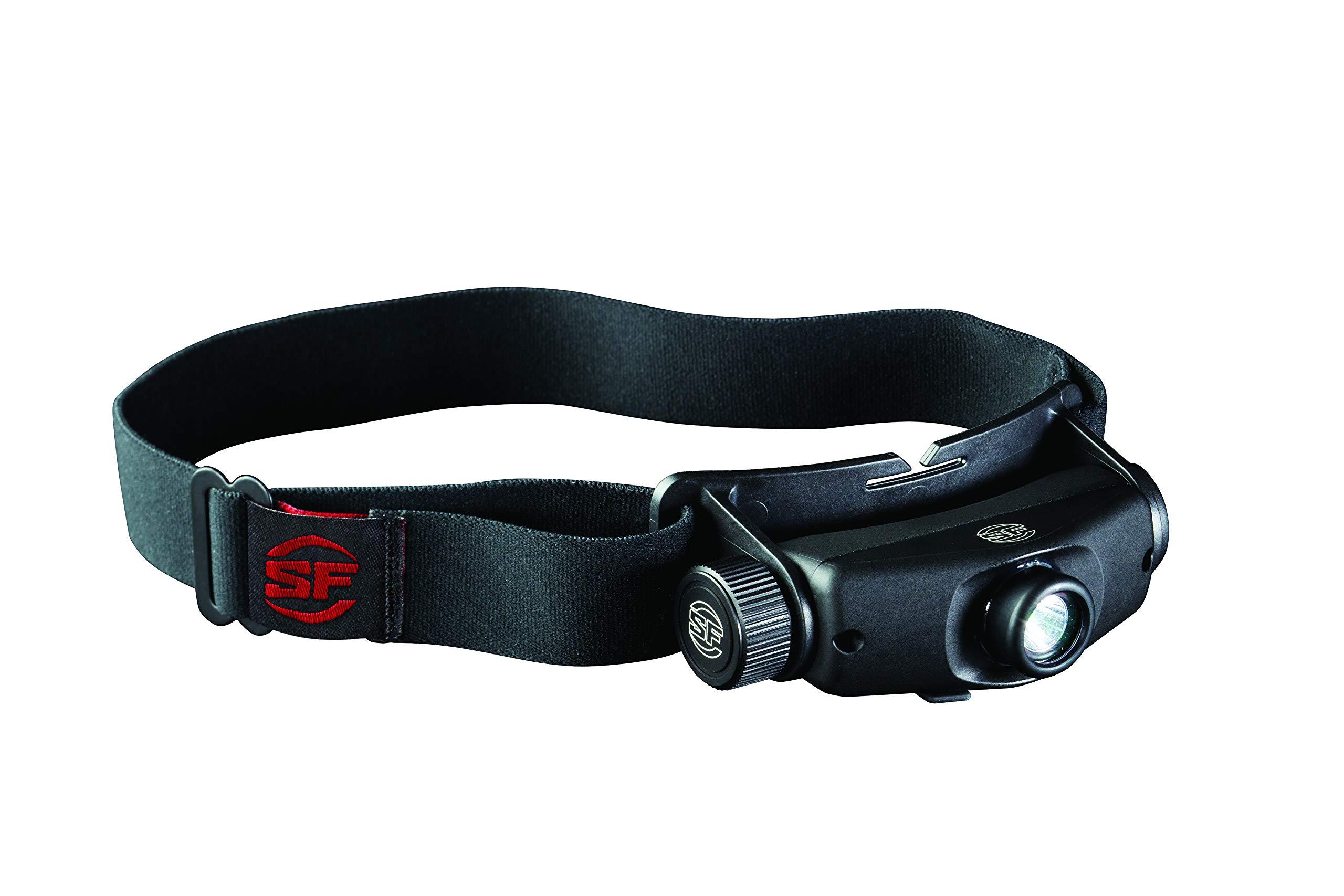 SureFire HS3-A-BK Maximus Rechargeable Variable-Output LED Headlamp by SureFire