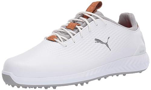 1e3119f76 Puma Piel Ignite Pwradapt Zapatos de Golf para Hombre: Amazon.com.mx ...