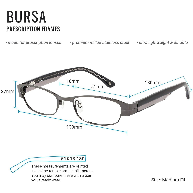 07d2a87143a Amazon.com  UMIZATO Prescription Glasses Frames Eyeglasses For Women - Cat  Eye
