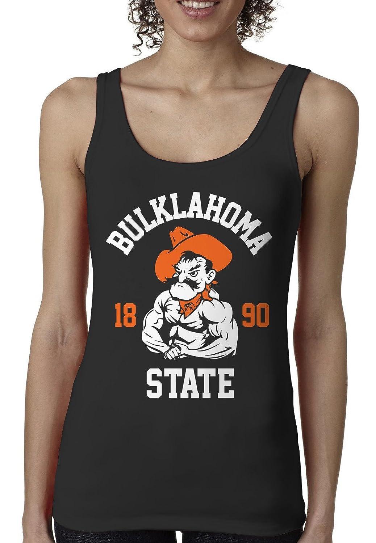 Bro Science Women's Bulklahoma State Tank-top