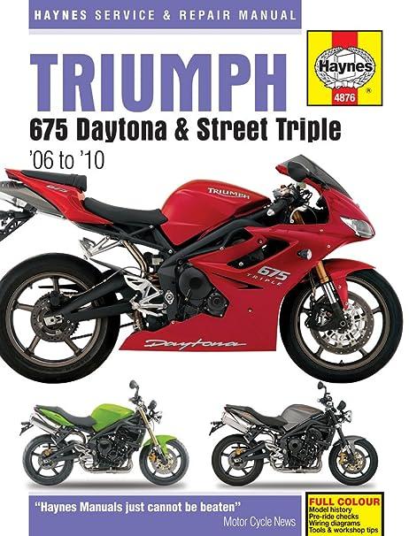 amazon com haynes manuals 4876 manual triumph 06 10 automotive 07 triumph daytona 675 haynes manuals 4876 manual triumph 06 10