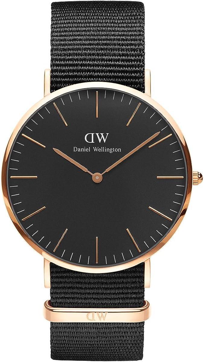 Daniel Wellington Classic Cornwall Reloj, Hombre, NATO