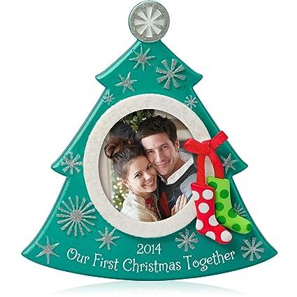 Hallmark Our First Christmas Ornament.Hallmark Keepsake Ornament Our First Christmas Photo 2014