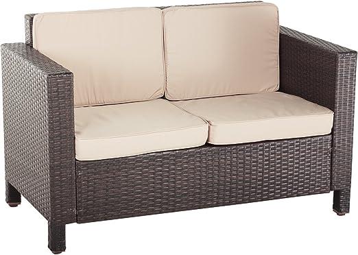 Oseasons Marruecos Flex ratán sofá de 2 plazas: Amazon.es: Jardín