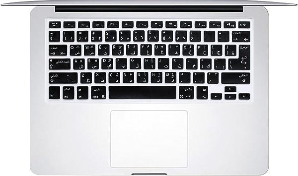 masino® Funda de silicona para teclado ultra thin Keyboard Skin para Europea US versión en chino MacBook Air 13