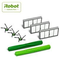 iRobot Authentic Replacement Parts- Roomba s Series Replenishment Kit, (3 filters, 3 Corner Brushes, 1 Set of Multi-Surface Rubber Brushes),Green - 4646124
